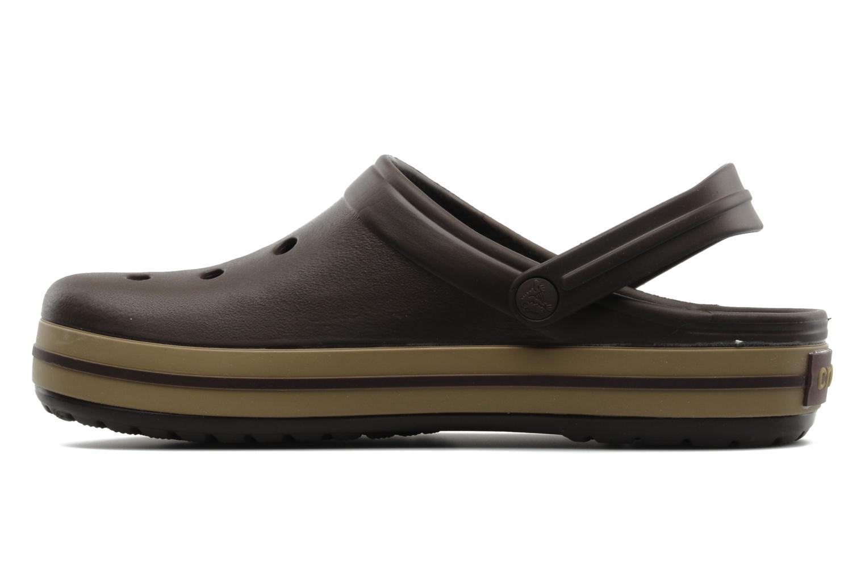Sandalen Crocs Crocband M Bruin voorkant