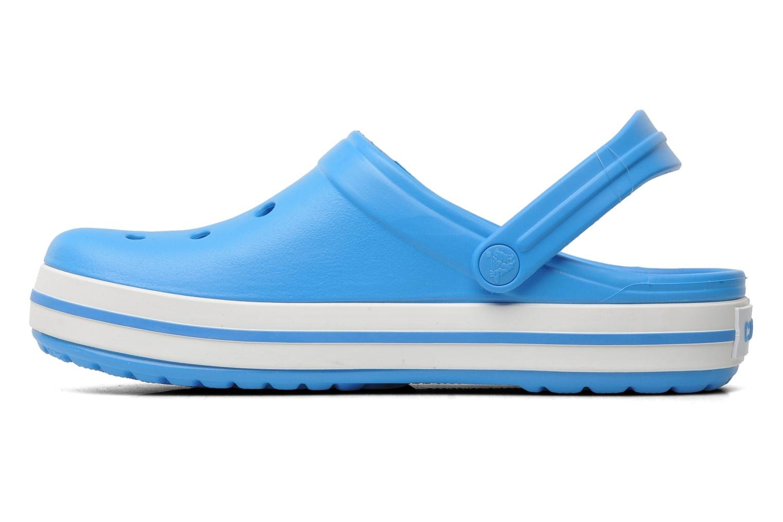Mules et sabots Crocs Crocband W Bleu vue face