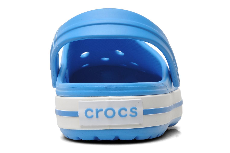 Clogs & Pantoletten Crocs Crocband W blau ansicht von rechts