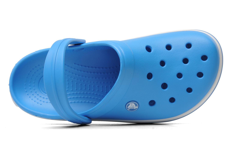 Zoccoli Crocs Crocband W Azzurro immagine sinistra