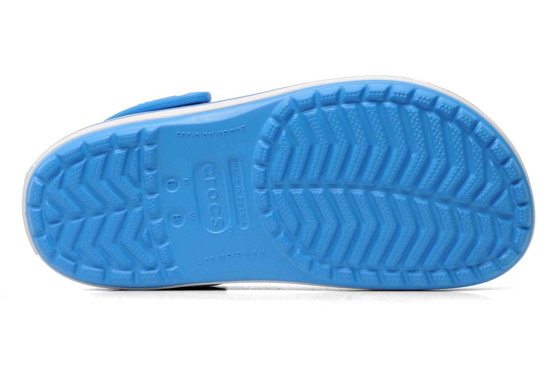 Mules et sabots Crocs Crocband W Bleu vue haut