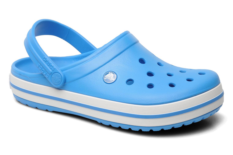 Mules et sabots Crocs Crocband W Bleu vue détail/paire