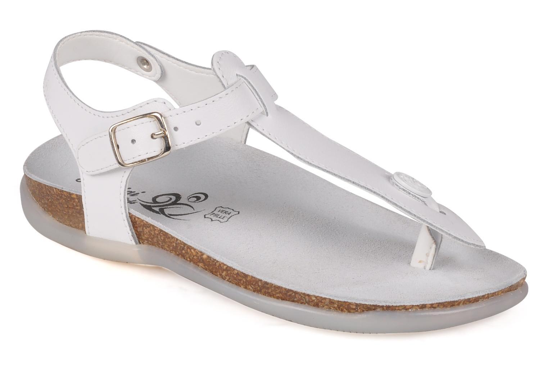 Sandales et nu-pieds Primigi Pianosa Blanc vue détail/paire