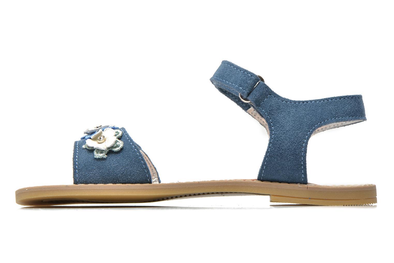 Sandalen Primigi Violetta blau ansicht von vorne