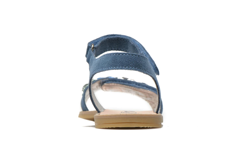 Sandali e scarpe aperte Primigi Violetta Azzurro immagine destra