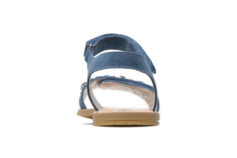 Sandalen Primigi Violetta blau ansicht von rechts