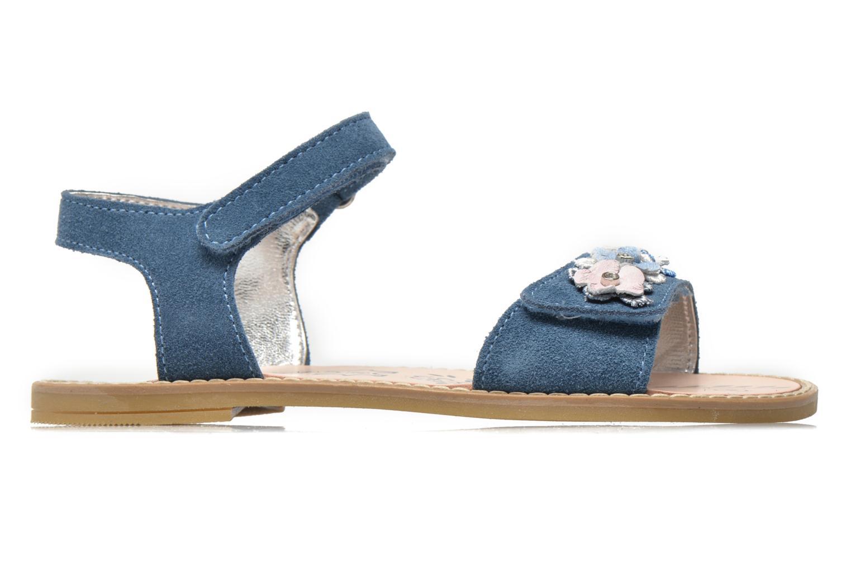 Sandalen Primigi Violetta blau ansicht von hinten