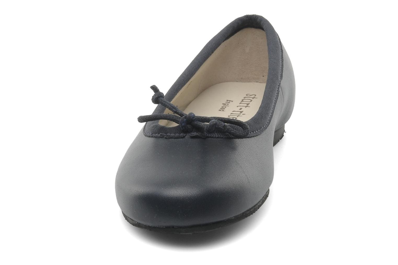 Ballerines Start Rite Francesca Bleu vue portées chaussures