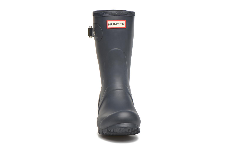 Bottines et boots Hunter Original Short Bleu vue portées chaussures