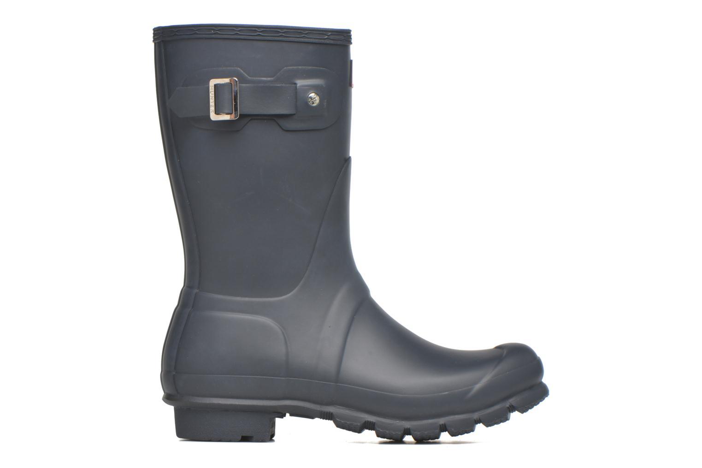 Bottines et boots Hunter Original Short Bleu vue derrière