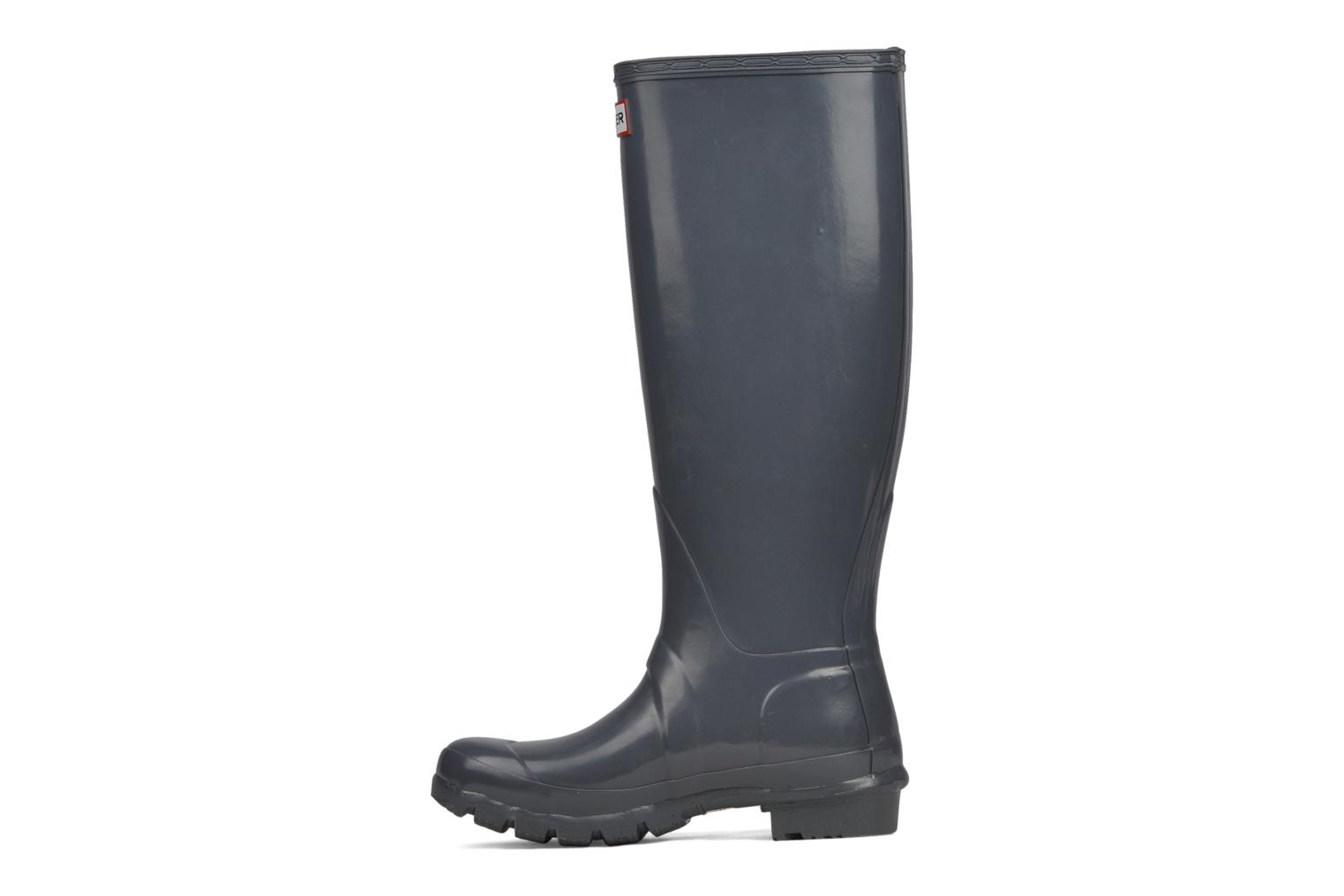 Bottes Hunter Original Tall Gloss Gris vue face