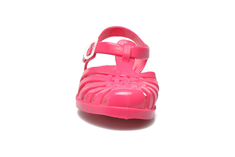 Scarpe sportive Méduse Sun 201 Rosa modello indossato