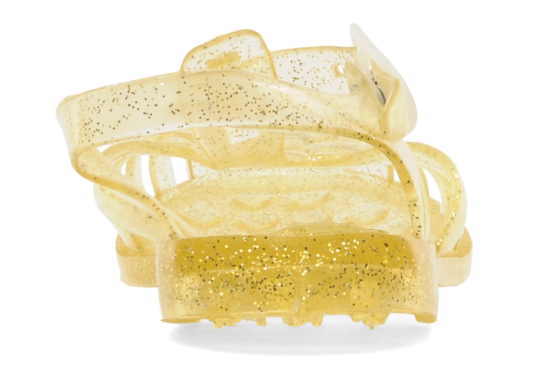 Zapatillas de deporte Méduse Sun 201 Amarillo vista lateral derecha