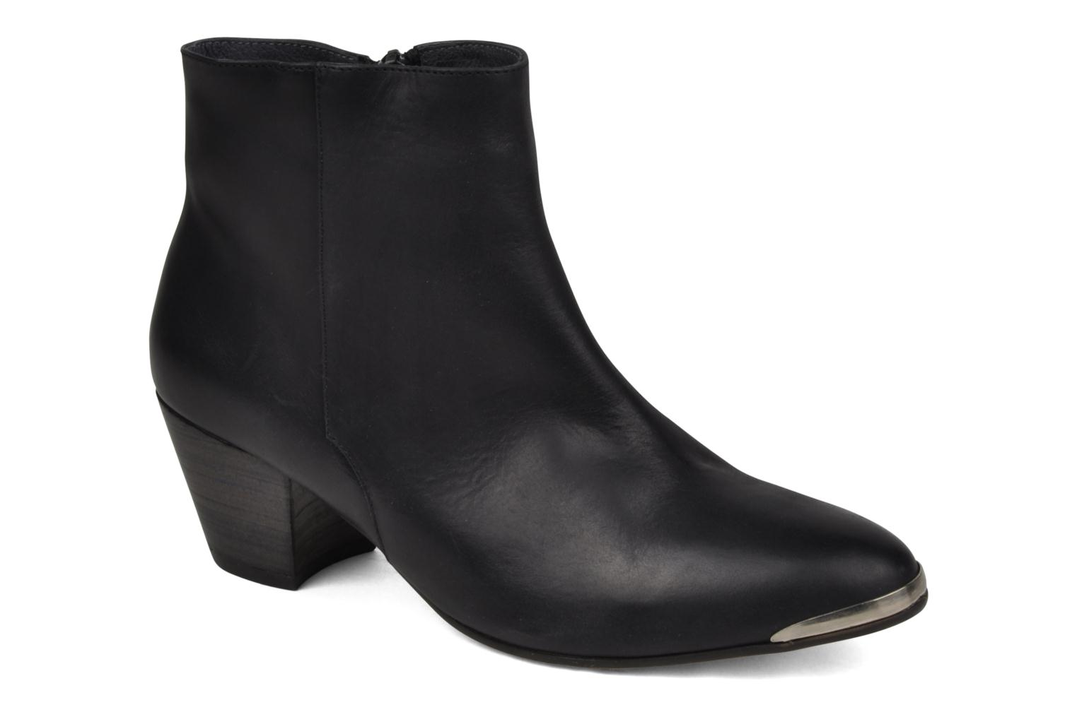 Ankle boots Jonak Doddy Black detailed view/ Pair view