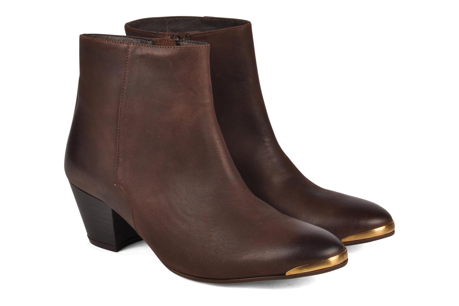 Bottines et boots Jonak Doddy Marron vue 3/4