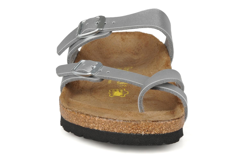 Mules et sabots Birkenstock Mayari W Argent vue portées chaussures