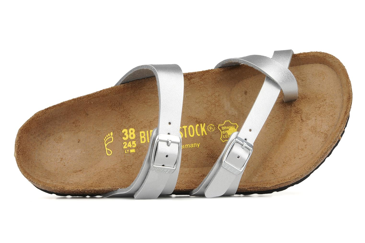 Mules & clogs Birkenstock Mayari Silver view from the left
