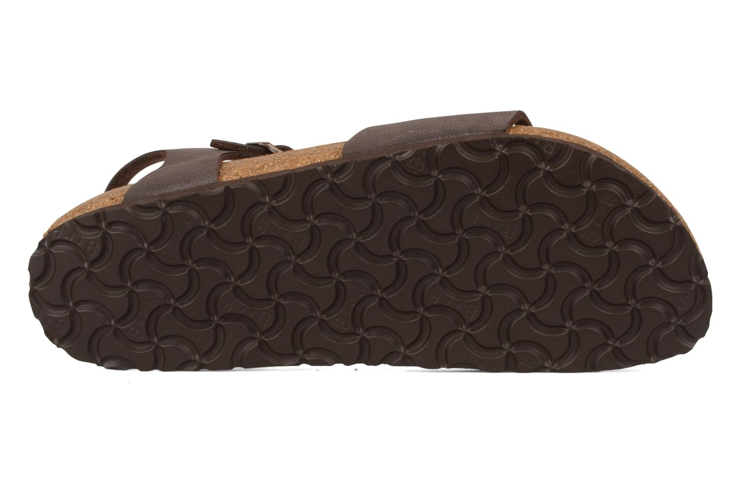 Sandals Birkenstock Bali W Brown view from above