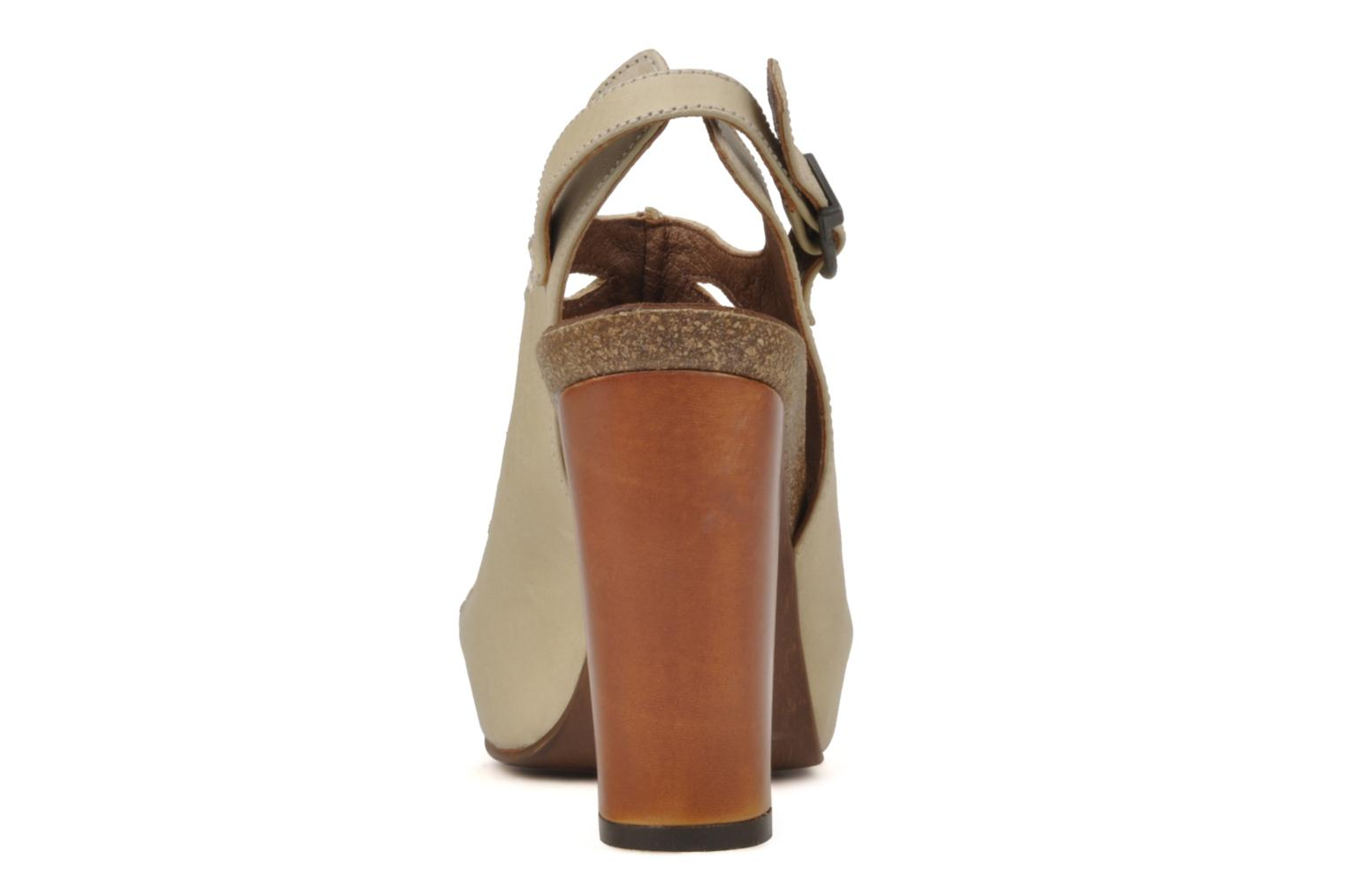 Sandals Jeffrey Campbell Tohill Beige view from the right