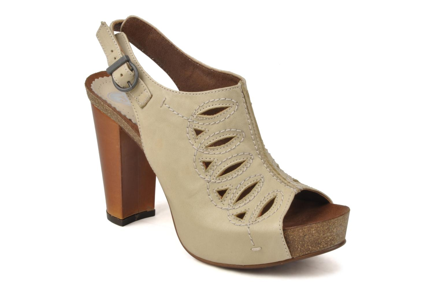 Sandals Jeffrey Campbell Tohill Beige detailed view/ Pair view