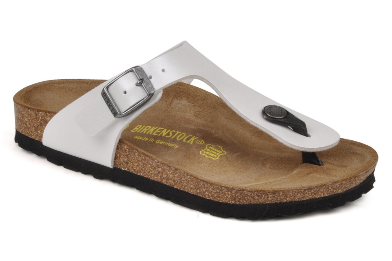 Slippers Birkenstock Gizeh E Wit detail