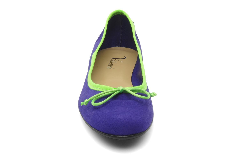 Ballerines Valensi Vega Violet vue portées chaussures