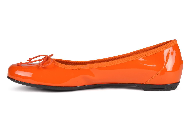 Ballerines Valensi Vega Orange vue face