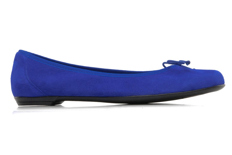 Ballerinas Valensi Vega blau ansicht von hinten