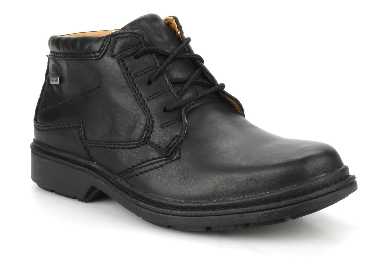 Chaussures à lacets Clarks Rockie Hi Gtx Noir vue détail/paire