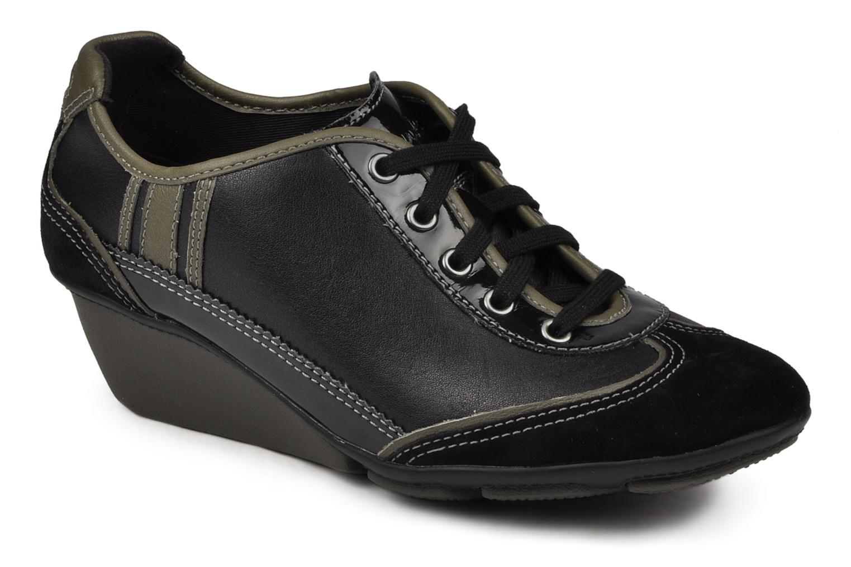 Sneakers Clarks Hustle Bustle Zwart detail