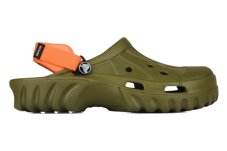 Sandalen Crocs Off Road grün ansicht von hinten