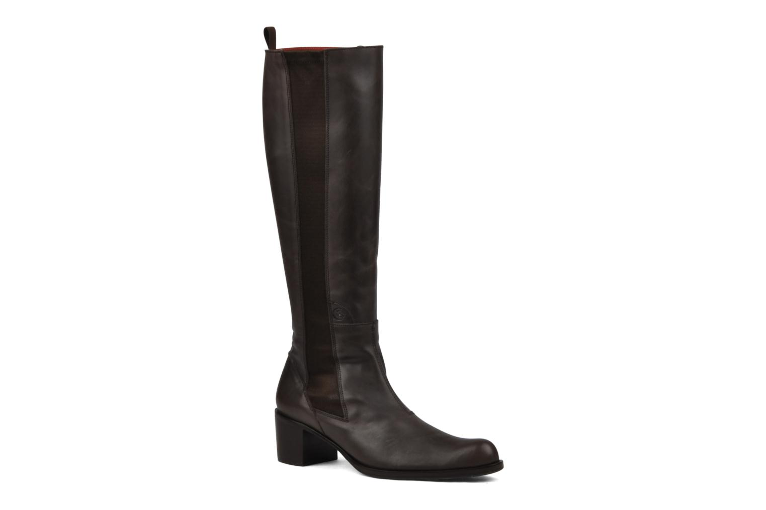 Boots & wellies Stephane Gontard Kaloa Brown detailed view/ Pair view