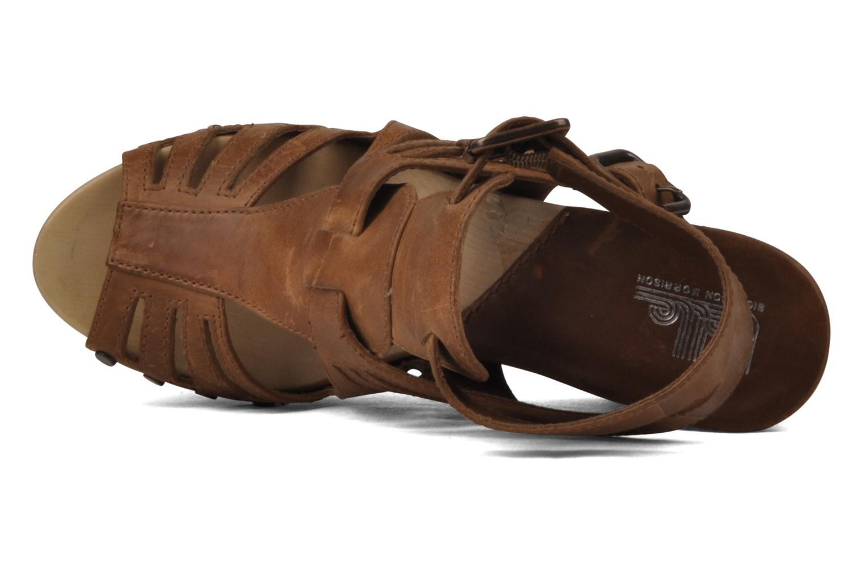 Sandalen Belle Arizona braun ansicht von links