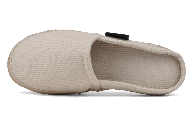 Pantofole Giesswein Somo Amando Beige immagine sinistra