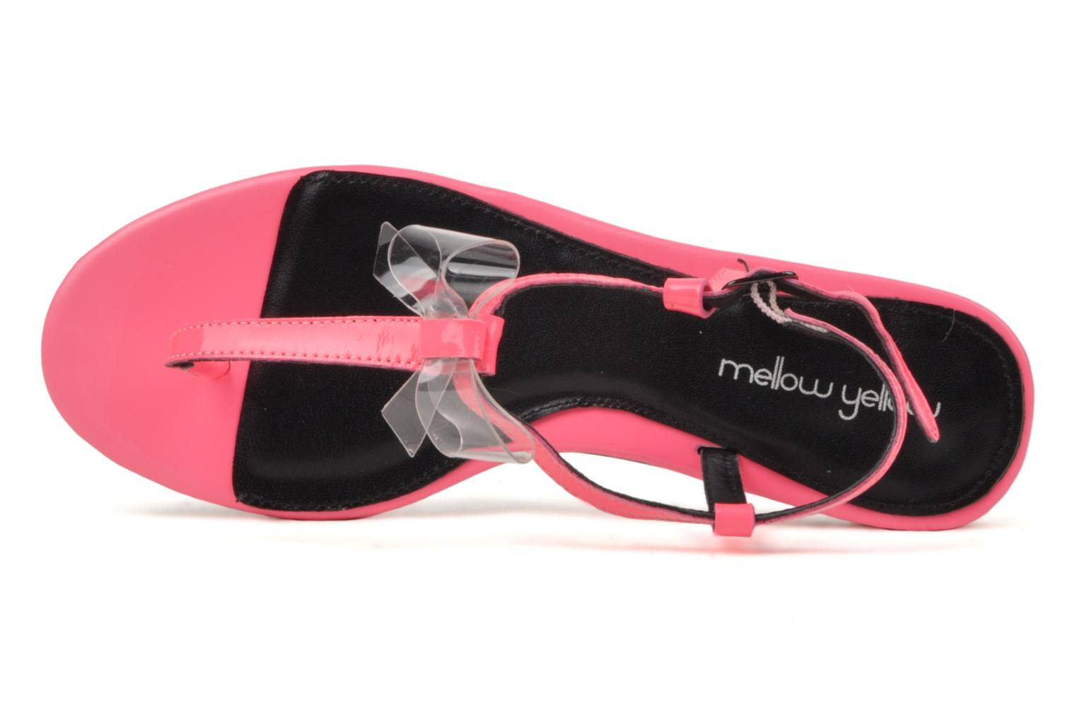 Sandals Mellow Yellow Hektok Pink view from the left
