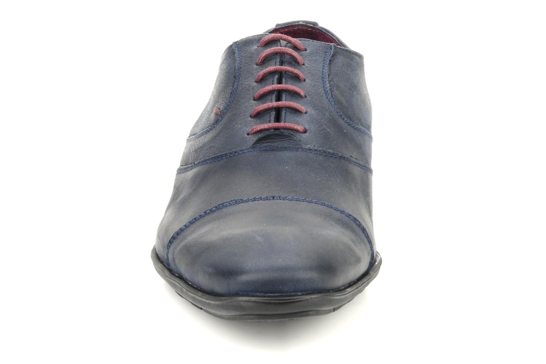 Chaussures à lacets Kost KEFO4 Bleu vue portées chaussures