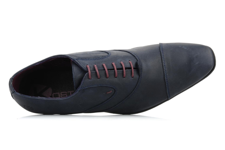 Chaussures à lacets Kost KEFO4 Bleu vue gauche