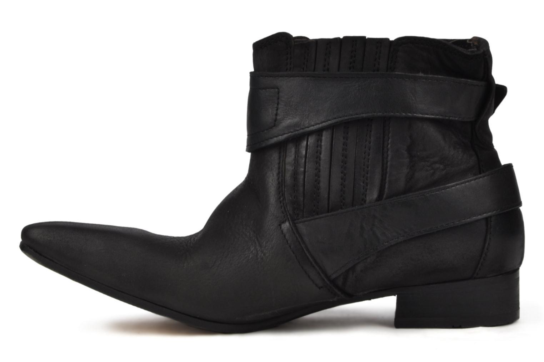 Boots en enkellaarsjes H By Hudson Newob Zwart voorkant