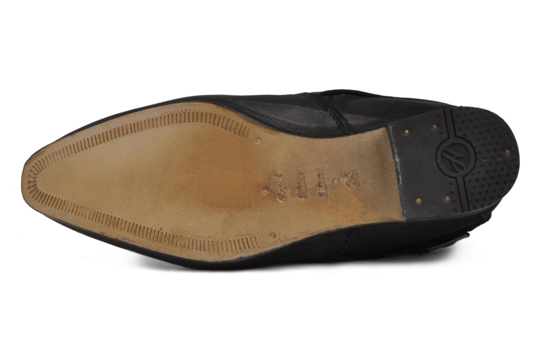 Boots en enkellaarsjes H By Hudson Newob Zwart boven