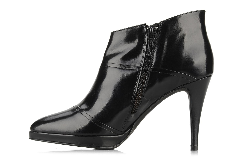 Bottines et boots Georgia Rose Amyla Noir vue face