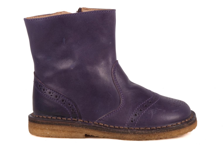 Boots en enkellaarsjes PèPè Alberto Paars achterkant