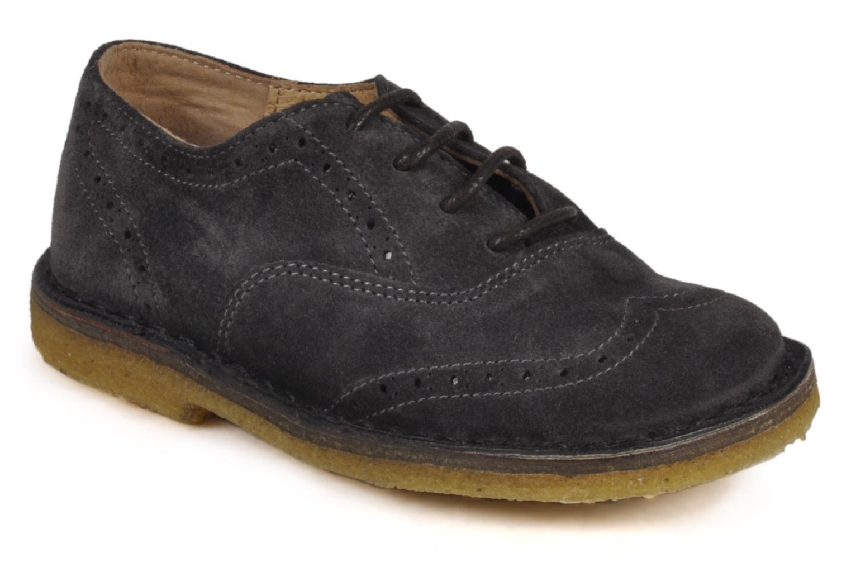 Lace-up shoes PèPè Legio Grey detailed view/ Pair view