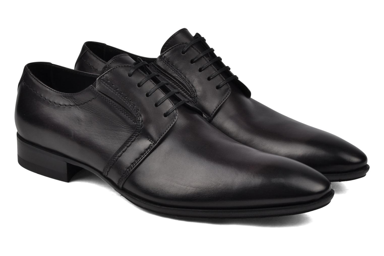 Lace-up shoes Doucal's Henry  Grey 3/4 view
