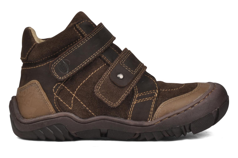 Boots en enkellaarsjes GBB Mickael Bruin achterkant