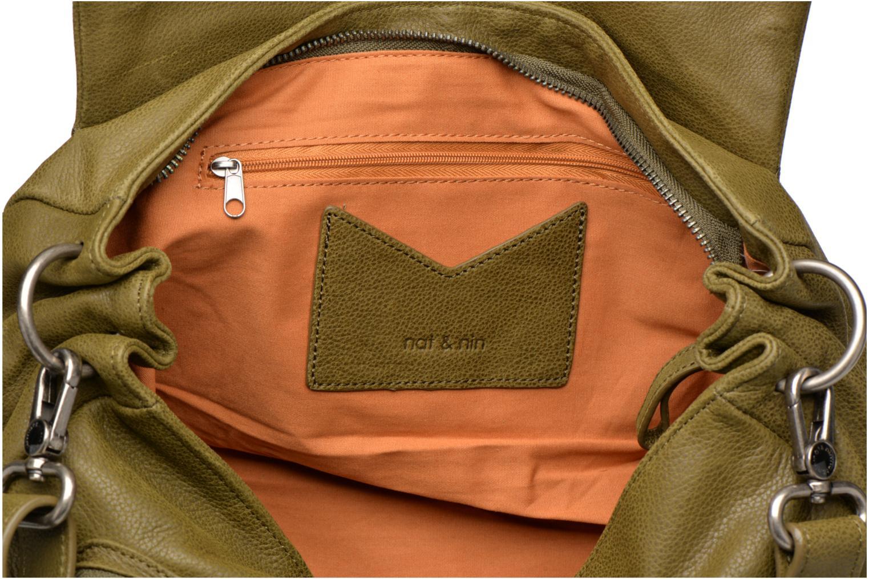 Handtaschen Nat & Nin Lola grün ansicht von hinten