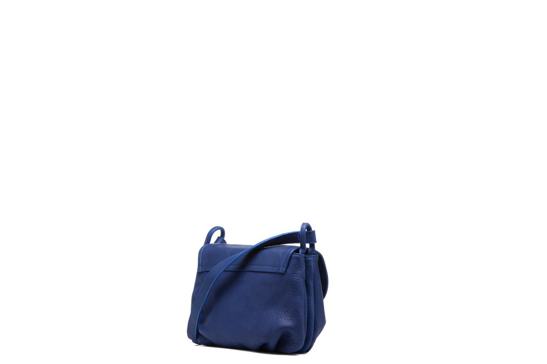 Handtaschen Nat & Nin Jenny blau ansicht von rechts
