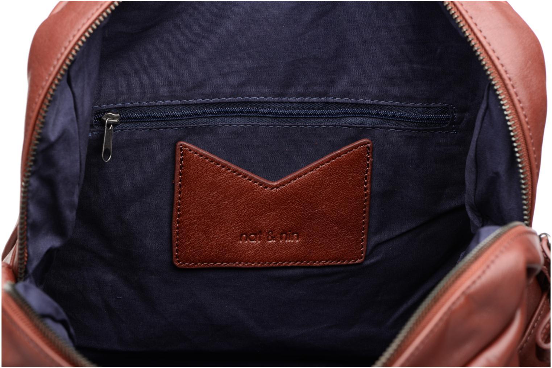 Handtassen Nat & Nin Macy Paars achterkant