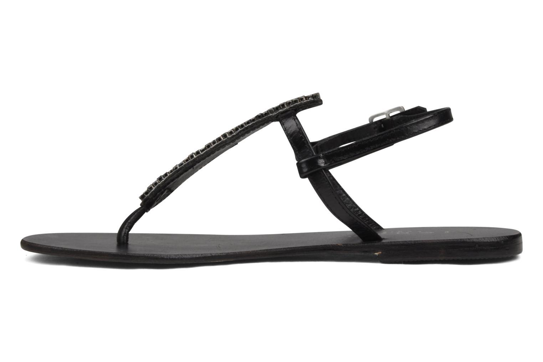 Sandales et nu-pieds Jonak Izou Noir vue face