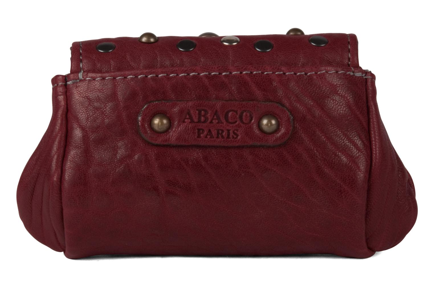 Wallets & cases Abaco Friend Clouté Red front view