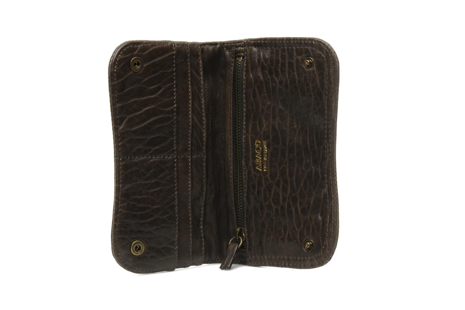 Wallets & cases Abaco Nina Java Clouté Brown back view